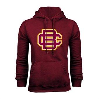Bethune Cookman Champion Maroon Fleece Hood 'BC Logo' maroon 5