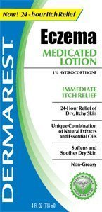 Dermarest Eczema Medicated Lotion-4, Oz. (Pack Of 3)