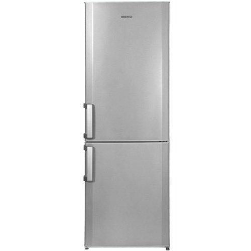 Beko CS 234020 S Libera installazione 205L 87L A+ Argento frigorifero con congelatore