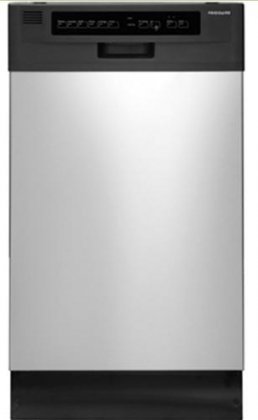 Frigidaire FFBD1821MS 18 Built-In Dishwasher - Stainless Steel