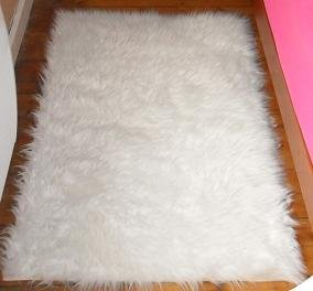 Descente de lit blanc 70x100cm cuisine maison - Descente de lit conforama ...
