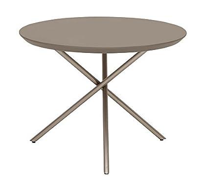 Living Moments 2181101601 Coffee tavolino da salotto, 60 x 45 cm, Pietra grigio scuro