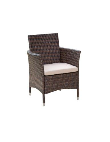 greemotion korbsessel inkl sitzkissen milano mehrfarbig. Black Bedroom Furniture Sets. Home Design Ideas