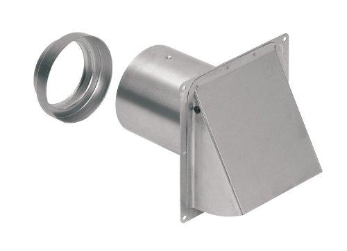 Broan 885AL Wall Cap Aluminum for 3