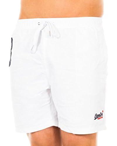 Superdry Shorts da Bagno [Bianco]