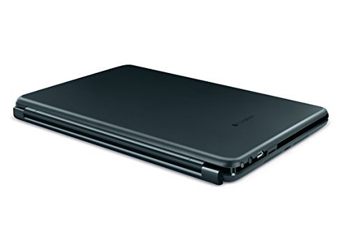Logitech Ultrathin Magnetic clip-on keyboard cover for Apple iPad mini and iPad mini with Retina display, Space Gray