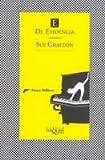 E de evidencia (Spanish Edition)