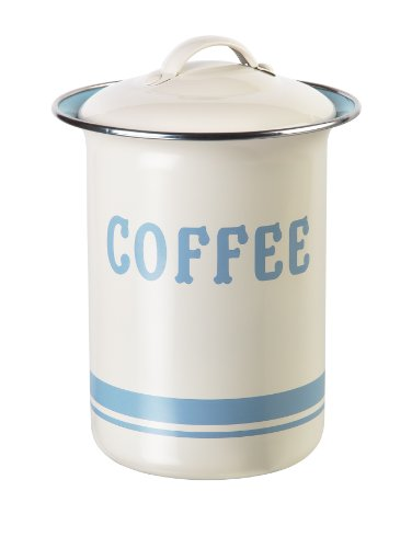 JAMIE OLIVER Vintage Inspired Coffee, Tea and Sugar Tin Set 4