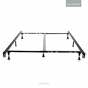 amazon heavy duty queen bed frame