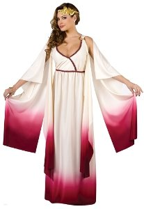 Venus Goddess of Love Costume - Medium/Large - Dress Size 10-14