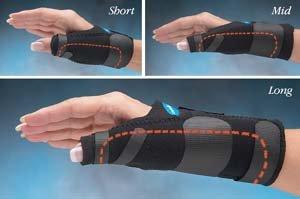 Comfort Cool Long Thumb Spica, Size: L/Xl