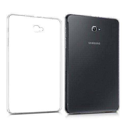 kwmobile Custodia trasparente per Samsung Galaxy Tab A 10.1 (2016) Custodia di silicone TPU - custodia per tablet protettiva sottile cover in trasparente