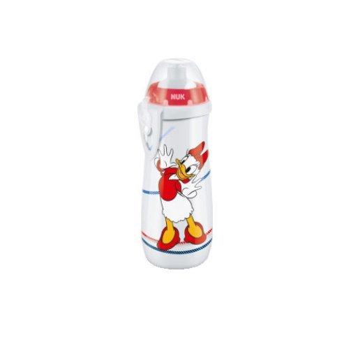 nuk-gourde-sports-cup-450-ml-36-mois-avec-bouchon-tirette-en-silicone-couleur-blanche-avec-donald-et