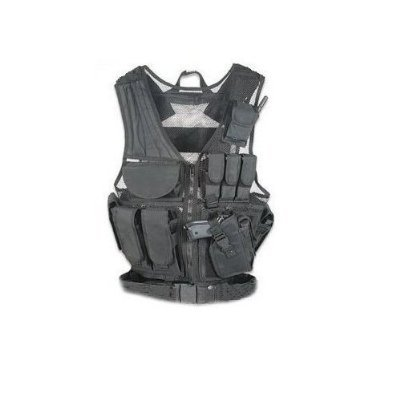 Click here to buy Global Sportsman® Black Lightweight Tactical Scenario Military Hunting Assault Vest... by GS-Global Sportsman.