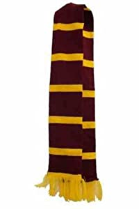 Harry Potter Style Scarf Hogwarts School Boy World Book Day Fancy Dress Costume (RB Fashions Clothing)