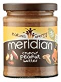 Meridian Natural Crunchy Peanut Butter - No added sugar and no added salt -280g
