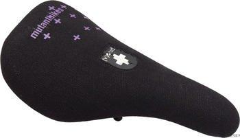 Mutant Bikes Slimy Pivotal Seat, Black/Purple