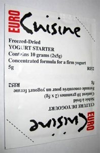 Euro Cuisine Yogurt Starter - 10  5 g