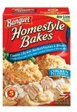 Banquet Homestyle Bakes Chicken Mashed Potatoes and Biscuits 309 Ounce