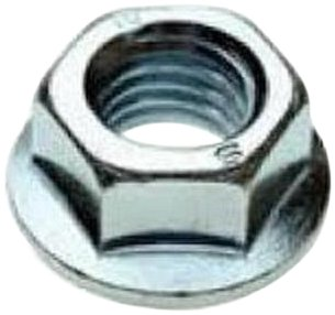 316 Stainless Steel Flange Nut, Grade 2, Meets ASME B18.2.2, 3/8