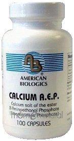 Calcium AEP 100 Capsules by American Biologics