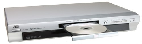 Jvc Xv-S502Sl Progressive-Scan Dvd Player, Silver