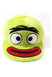 Yo Gabba Gabba Brobee Furry Flat Bill Fitted Hat Cap Size Medium/7-1/8