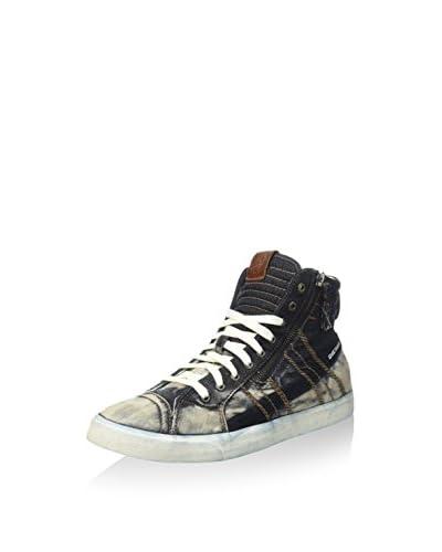 Diesel Sneaker Alta D-String [Blu Scuro]