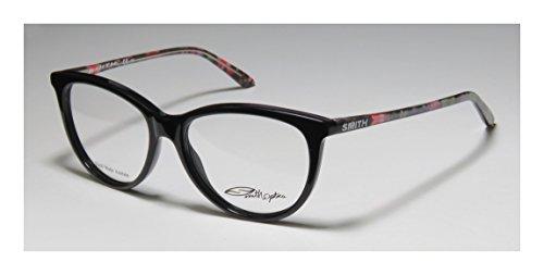 Smith Optics Etta Womens/Ladies Ophthalmic Durable Designer Full-rim Eyeglasses/Eyewear (52-16-135, Black / (Green Ranger Morph Suit)