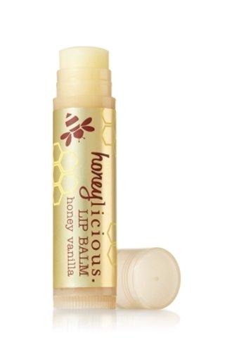 バス&ボディワークス ハニーバニラ リップバーム Honey Vanilla Liplicious Lip Balm