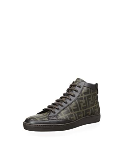 Fendi Men's Casual Hightop Sneaker