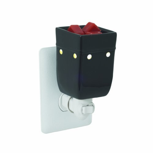 Candle Warmers Etc. Plug-in Fragrance Warmer, Black