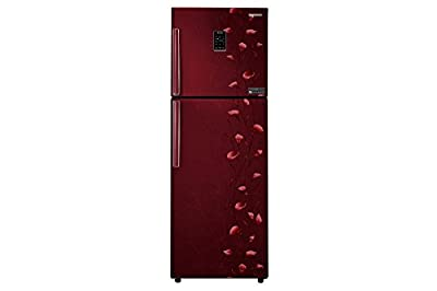 Samsung RT34K3983RZ Frost-free Double-door Refrigerator (318 Ltrs, 3 Star Rating,   Tender Lily Red )