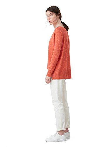 mango-flecked-sweater-sizem-colorcoral-red