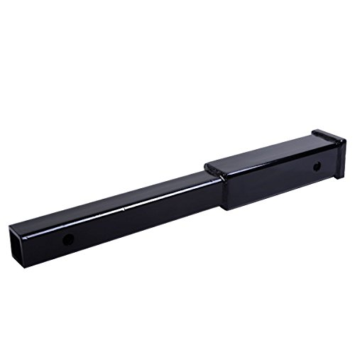 "Sale!! Goplus® 18"" Hitch Extension Receiver 2"" Extender 5/8"" Pin Hole 500 LBS Capaci..."
