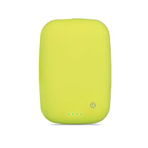 Bluboon Qi Charger 4000Mah Wireless Charger Power Bank Charger Portable Built-In Battery Pack (Green)