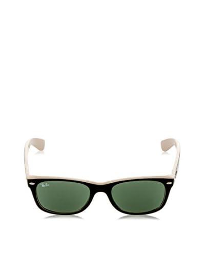 Ray-Ban Gafas de Sol 2132 _875 NEW WAYFARER (52 mm) Negro / Beige / Verde