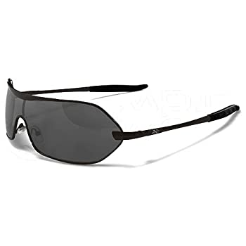 Xloop Lunettes de Soleil Mode - Fashion - Tendance - Conduite - Moto - Plage / Mod. 3910 Noir Gris / Taille Unique / Protection 100% UV400
