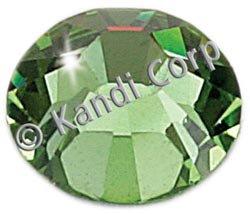 Kandi Corp Hotfix Swarovski Crystals 4mm Peridot 24/Pkg K124-57; 3 Items/Order