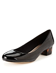 M&S Collection Block Heel Pumps with Insolia®