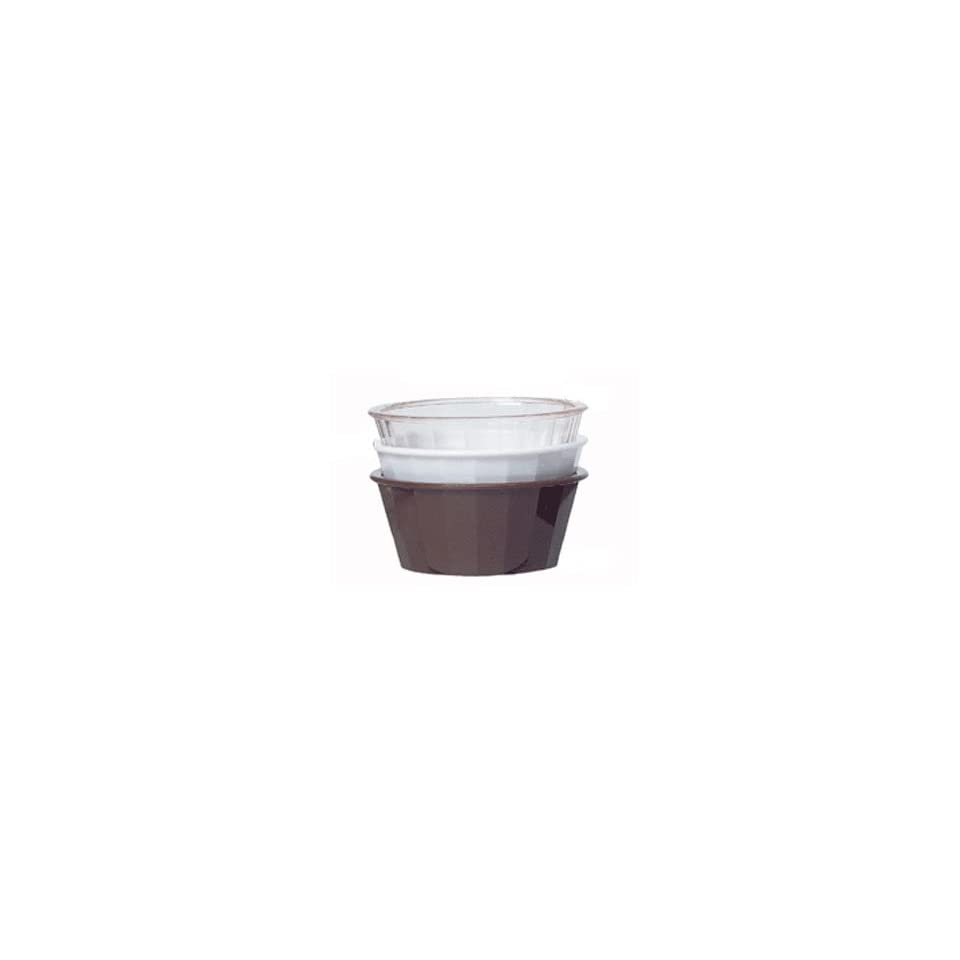 e1b9a07450e GET Clear SAN Plastic 4 Oz. Fluted Ramekin 4 1/4 on PopScreen