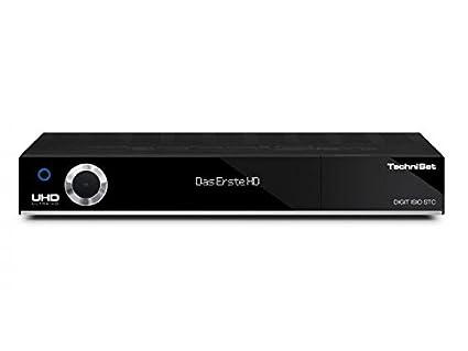 TechniSat Digit ISIO STC - UHD/4K Satelliten-Receiver mit dreifachem TwinTuner DVB(CI+, Smart-TV, WLAN, PVR-Funktion via USB oder im Netzwerk, UPnP-Livestreaming u.v.m.) schwarz