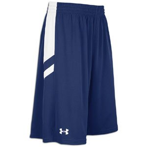 Under Armour Undeniable Reversible 11 Short - Men ( sz. M, Navy White ) by Under Armour