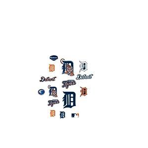 MLB Detroit Tigers Team Logo Assortment Fathead Jr. Wall Decal by Fathead