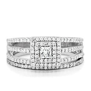 Isady - San Remo - Ladies Ring 4gr - 925 Sterling silver - Cubic Zirconia