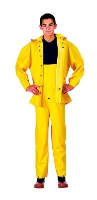 Yellow Deluxe Heavyweight PVC 2 Piece Rainsuit - Buy Yellow Deluxe Heavyweight PVC 2 Piece Rainsuit - Purchase Yellow Deluxe Heavyweight PVC 2 Piece Rainsuit (Galaxy Army Navy, Galaxy Army Navy Mens Outerwear, Apparel, Departments, Men, Outerwear, Mens Outerwear)
