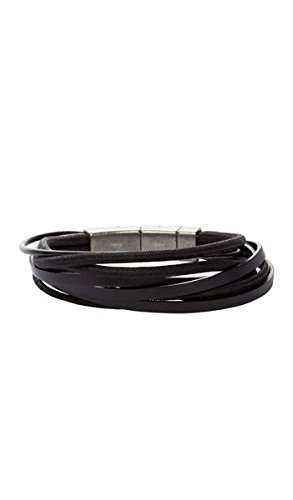 FOSSIL-Armband-JF86182040-Leder-schwarz