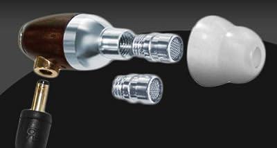 Sleek Audio SA1 High-Fidelity Rosewood Earphones