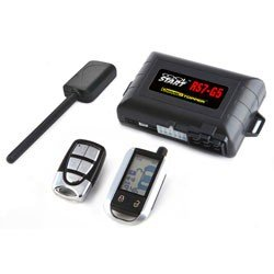 Crimestopper RS7-G5 Cool StartTM 2-Way FM/FM LCD Remote Start and Keyless Entry System