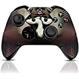 (Snake) Custom Xbox One Controller with Exclusive Design Vinyl Skin Decal Uniquely Hand Painted and Air-Brushed (Color: Snake)